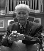 prof. Gerard Labuda, fot. Maciej Męczyński Życie Uniwersyteckie